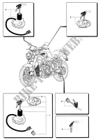 LOCKS for MV Agusta BRUTALE 910S 2005