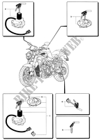 LOCKS for MV Agusta BRUTALE 989R 2008