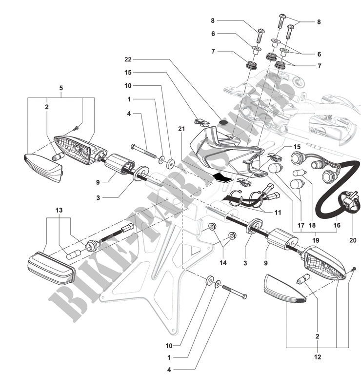 Tail Light Indicators F3 675 2016 F3 Mvagusta Motorcycle Mv Agusta