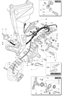 RIGHT FOOTREST F3 800 F3 mvagusta-motorcycle 2012 F3 800 4