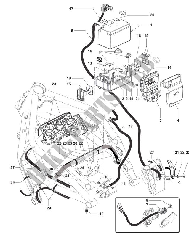 batterie boitier cdi f3 800 rc 2016 f3 mvagusta motorcycle   mv agusta