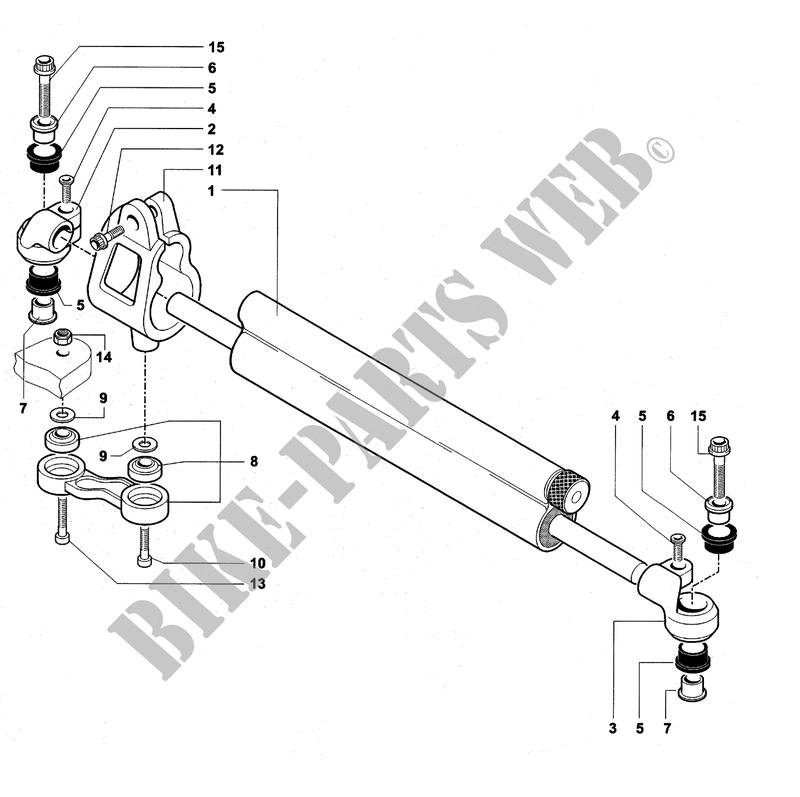 steering damper f4 750s 2001 f4 mvagusta motorcycle   mv