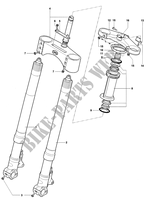 FRONT FORK  for MV Agusta F4 750S 2003