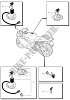LOCKS for MV Agusta F4 750S 2003
