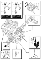 ENGINE ELECTRIC SYSTEM for MV Agusta F4 1000 SENNA 2006