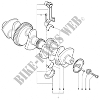 CRANKSHAFT  for MV Agusta F4 1000R 2006