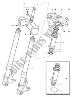FRONT FORK  for MV Agusta F4 1000R 2006