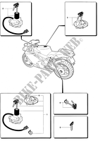 LOCKS for MV Agusta F4 312RR 1078 1+1 2009