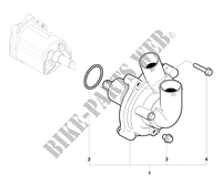 WATER PUMP for MV Agusta F4 1000 RR 2011