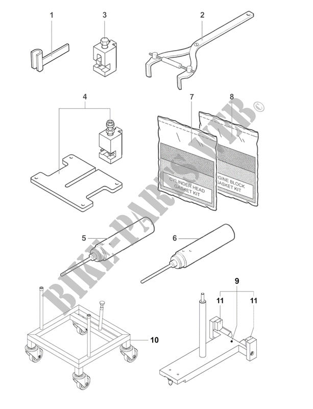 Engine Maintenance Tools 2 F4 2014 F4 Mvagusta Motorcycle Mv