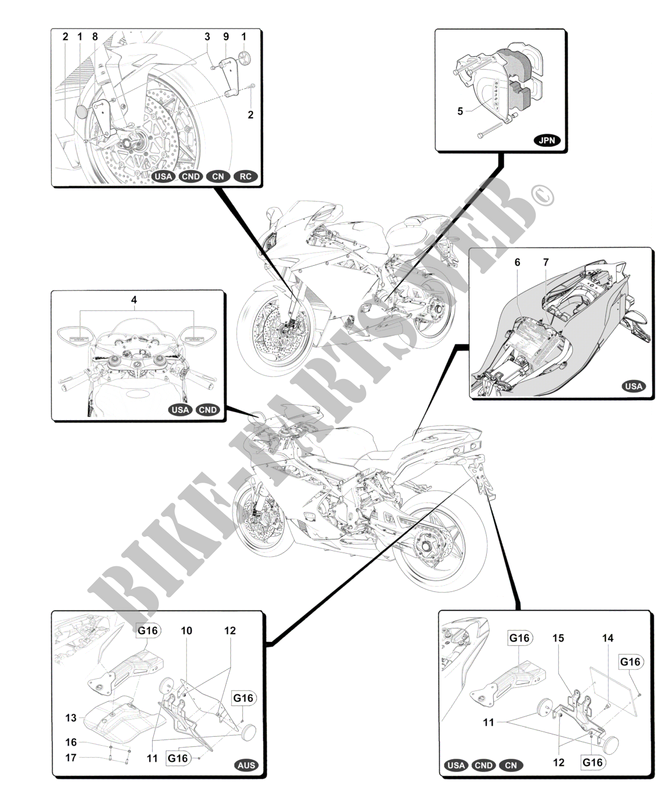 MV Agusta moto F4 2013 F4  F4 F4 OTHER COUNTRIES VERSIONS