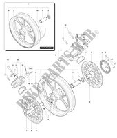 FRONT WHEEL F4 R F4 mvagusta-motorcycle 2014 F4 R 11