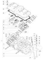 CYLINDER HEAD  for MV Agusta F4 RR 2015