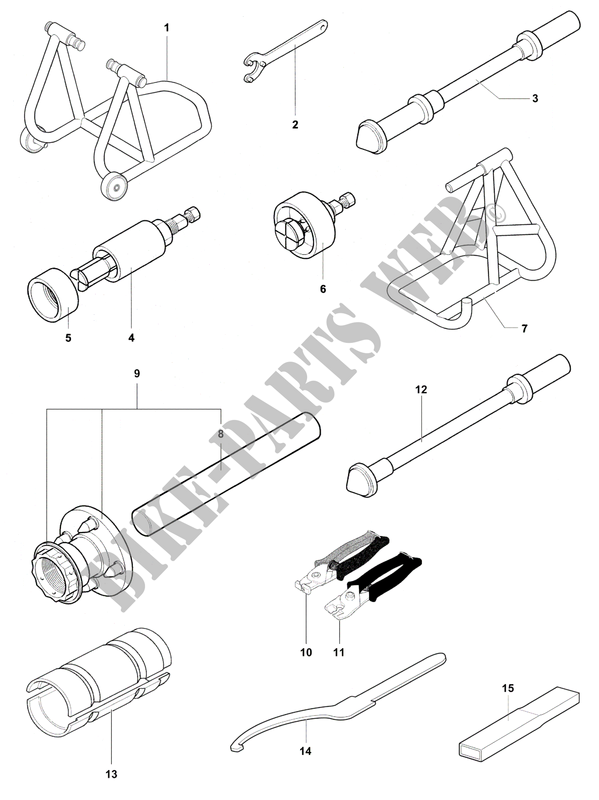 Frame Maintenance Tools 1 Stradale 800 2015 Stradale Mvagusta