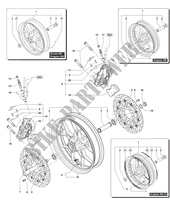 FRONT WHEEL for MV Agusta DRAGSTER RR 2015