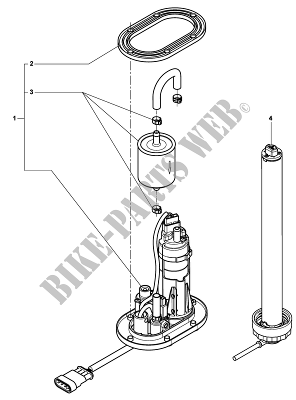 Fuel Tank Selector Valve